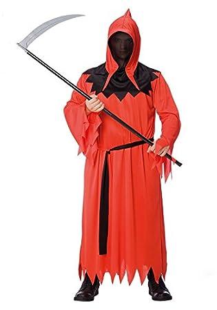 Disfraz Monstruo Disfraz de segador – Halloween – negro rojo – 159 ...
