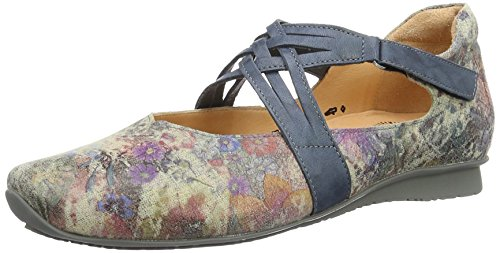 Think! Chilli, Ballerines Femme Multicolore (Taupe/Kombi 27)