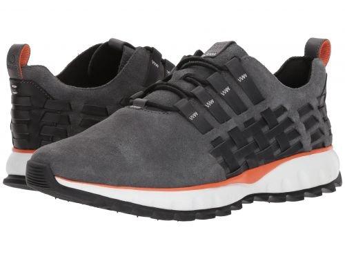 Cole Haan(コールハーン) メンズ 男性用 シューズ 靴 スニーカー 運動靴 Grand Explore All-Terrain Woven Ox - Magnet Nubuck/Koi/Black/Optic White [並行輸入品] B07BL63Q82