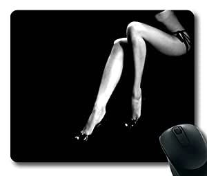 Sexy Girl Leg Masterpiece Limited Design Oblong Mouse Pad by Cases & Mousepads by Maris's Diary