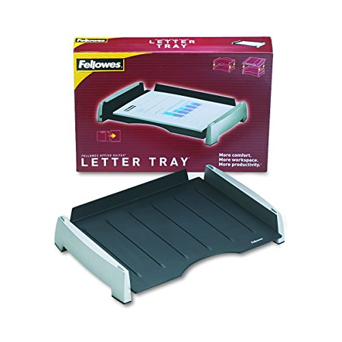 Fellowes Office Suites Letter Tray (8031701) (Fellowes Stacking Supports)