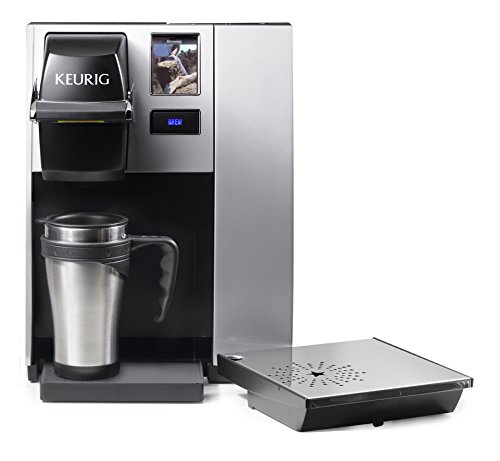 41YovDoPmXL - Keurig K150 Single Cup Commercial K-Cup Pod Coffee Maker, Silver(Direct plumb kit not included)