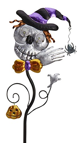 Goblin Guiders - Solar Powered Halloween Decorative Lights - Smiling Skeleton
