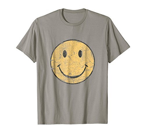 Vintage SMILEY FACE SHIRT | 70's Vibe Shirt | Yellow Smiley