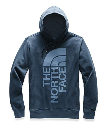 The North Face Men's Trivert Pullover Hoodie Blue Wing Teal/Blue Wing Teal - Hood Jersey Knit
