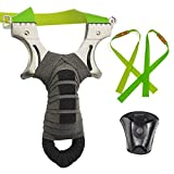 Best Hunting Slingshots - RCZZSUWE Hunting Slingshot with 2 Rubber Bands Review