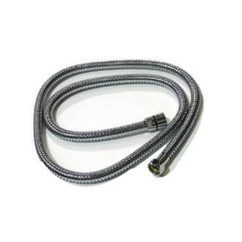(Rohl 16295APC 1/2-Inch Female by 1/2-Inch Female 59-Inch Flex Hose Standard Length Double Spiral in Polished Chrome)
