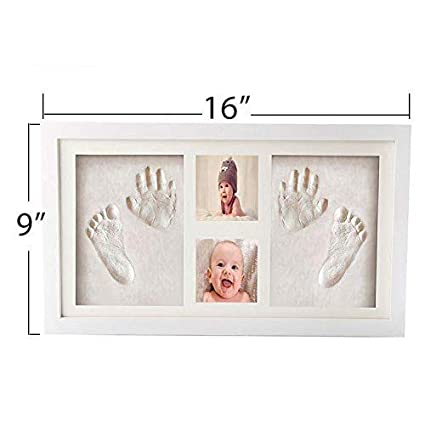 Amazon.com: Baby Hand and Foot Print Kit - with Clay - All ...