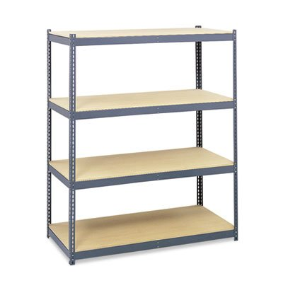 Safco Products 5260 Archival Shelving Steel Frame 84