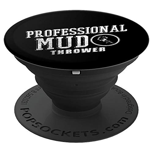Professional Thrower - Boys BMX Bike Accessories | Professional Mud Thrower - PopSockets Grip and Stand for Phones and Tablets