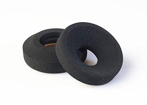 VEVER 2 pcs Replacement Earpads Ear Pads Cushion Foam For Grado SR125, SR225, SR325, SR60, SR80, M1, M2, PS1000, GS1000 Headphone (with VEVER LOGO package) (Foam)