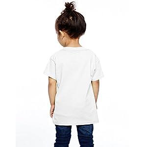 Aiguan Steampunk Flamingo Toddler Short Sleeve T-Shirt Cozy Top for Little Boy & Girl Black