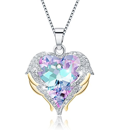 heart crystal necklace - 9