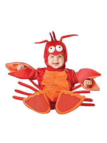 InCharacter Costumes Baby's Lil' Lobster Costume, Red/Orange, Small (6-12 Months) -
