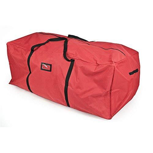 - Santas Bags SB-10133 Christmas Tree Storage Bag for 6-9-Feet Trees - Red