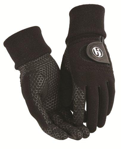 HJ Glove Women's Black Winter Xtreme Golf Glove, Medium, Pair