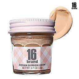[16BRAND] Guroom Cream Foundation SPF35 PA++ 20g (#1 Light Beige) by 16BRAND