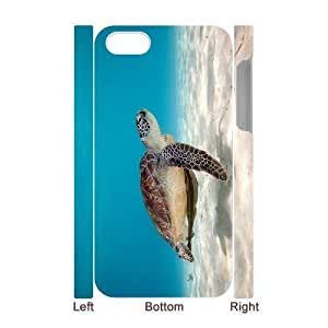 3D Bumper Plastic Case Of Tortoise customized case For Iphone 4/4s by lolosakes