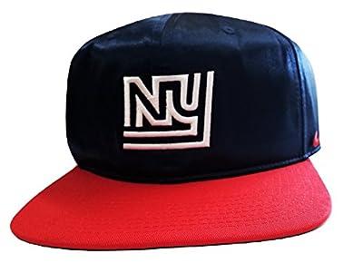 Nike Men's New York Giants Logo Snap-Back Hat Navy/University Red 902093419 One-Size