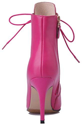 Abaad Bottes Auto Talon 9cm Rose cravate Aiguille Femmes Arraysa Sq5fvv