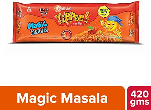 Sunfeast YiPPee Noodles, Magic Masala, 420g
