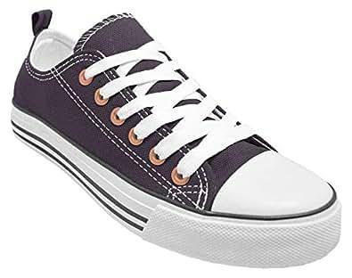 Haughty Canvas Shoes Women Fashion Walking Shoes Ladies Sneaker Low Top HaughtyMWC-Denim-9