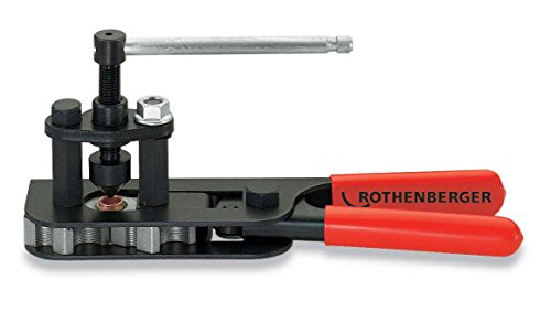 Rothenberger 26033 RoFlare Single/Double Compact Flaring Tool, 3/16 to 5/8-Inch
