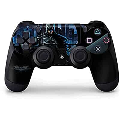 dc comics batman ps4 controller skin the dark knight video games. Black Bedroom Furniture Sets. Home Design Ideas