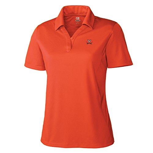 Virginia Cavaliers Golf (NCAA Virginia Cavaliers Women's Genre Polo Shirt, Medium, College Orange)