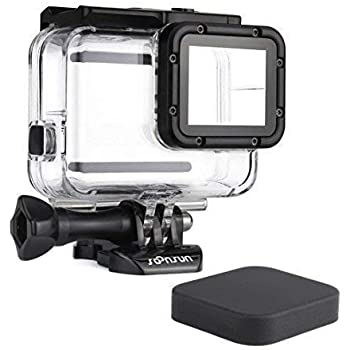 Amazon.com: KOBWA Waterproof Housing Shell for GoPro Hero7 ...