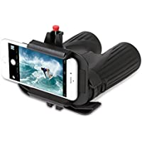 Snapzoom Universal Digiscoping Adapter iPhone Android Smartphones. Compatible Binoculars Microscopes Spotting Scopes Telescopes.