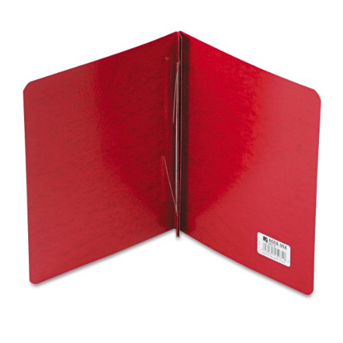 ACCO PRESSTEX Report Cover, Side Bound, Tyvek Reinforced Hinge, 8.5 Inch Centers, 3 Inch Capacity, Letter Size, Executive Red (A7025079A)
