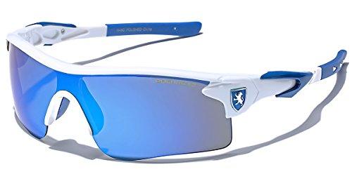 Premium Polarized Mirror Lens Sports Cycling Fishing Sunglasses - ()