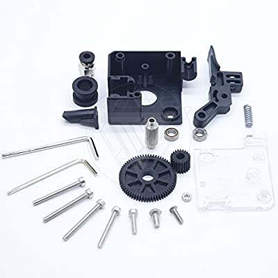 TEVO Titan Extruder Full Kit with NEMA 17 Stepper Motor for 3D Printer ssupport both Direct Drive and Bowden Mounting Bracket?Package Three?