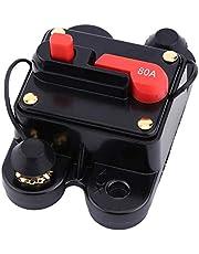 Circuit Breaker Car Audio DC12-24V Circuit Breaker for Car Marine Boat Bike Stereo Audio Reset Fuse 80-300A