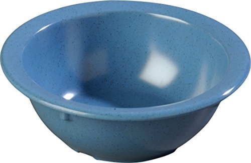 Carlisle KL92492 Kingline Rimmed Nappie Bowl 12.5 oz, 5.5'' - Sandshade (48 PER CASE) (Kingline Bowl Nappie)