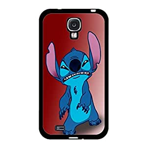 Samsung Galaxy S4 I9500 Moulded Cover Case with Creative Stitch Stitchs Animation Print,Cartoon Series Stitch Stitchs Logo Cell Phone Case