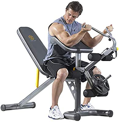 Gold S Gym Xrs 20 Olympic Bench Amazon Com Au Sports Fitness Outdoors