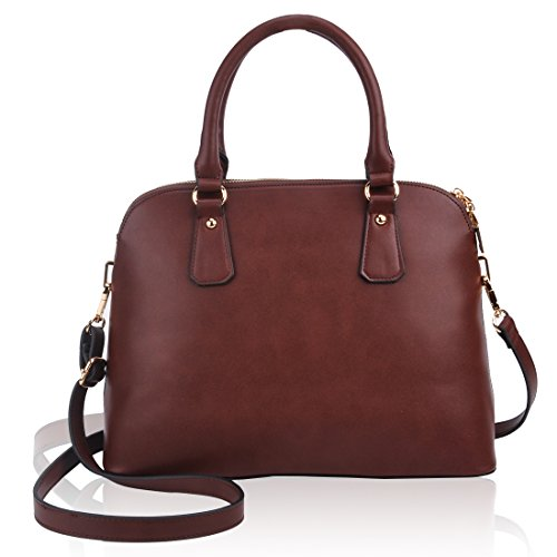 Designer Handbags for Women, ZMSnow Fashion Coffee Crossbody Purses for Ladies Women Girls