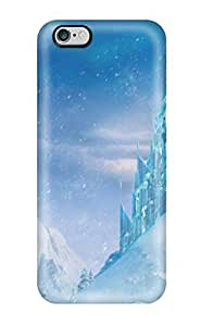 New Tpu Hard Case Premium Iphone 6 Plus Skin Case Cover(icecastle In Frozen)