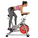 Indoor Cycling Bike Belt Drive Exercise Bike Spin Bike with Phone Bracket and Comfortable Seat Cushion (Type-4) Review