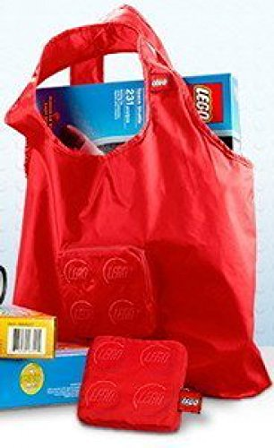LEGO Tote Bag Red