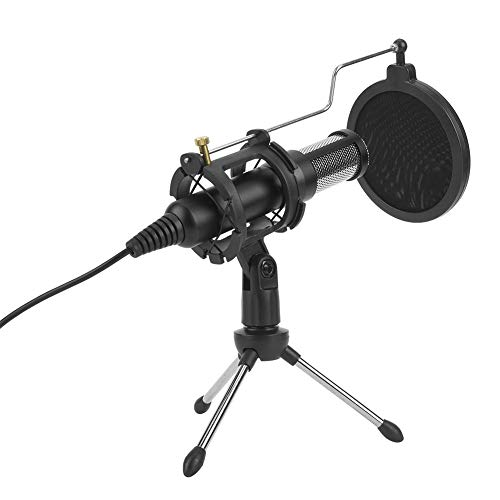 Condenser Microphone, Professional USB Microphone for Human Voice YouTube Skype Gaming