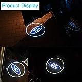 2pcs LED Car Door Welcome Light Projector Logo