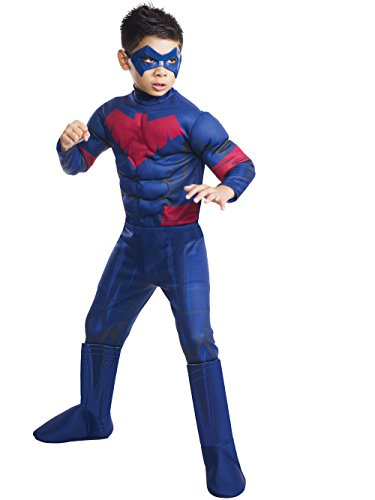 Batman Unlimited Nightwing Deluxe Costume, Child's Small]()