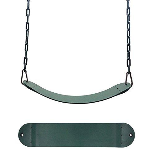 EDTara Swing Seat for Kindergarten Kids Heavy Duty 300KG/661LB Weight Limit Outdoor Playground Swing Accessories 25.59x5.51Inch