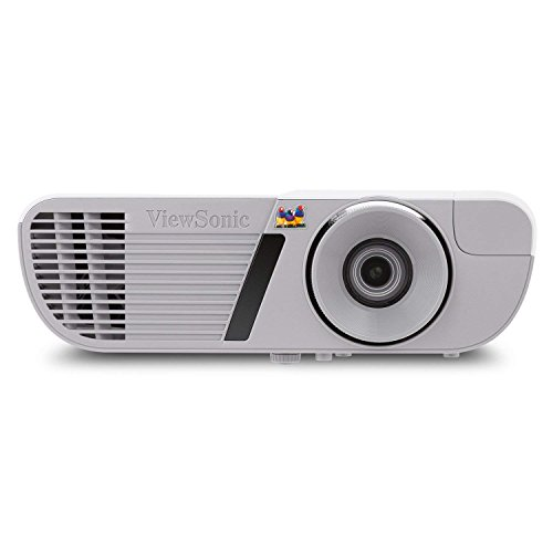 ViewSonic PJD7828HDL 3200 Lumens Full HD 1080p Shorter Throw Home Theater Projector with 3D DLP and HDMI