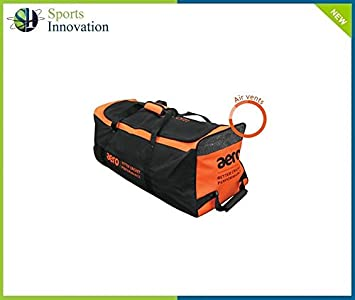 f031e1fed0 Aero Cricket Bag - MIDI - Black Orange  Amazon.co.uk  Sports   Outdoors