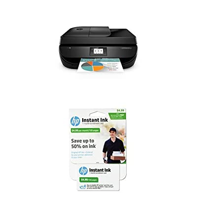 HP Officejet 4650 Wireless All-in-One Inkjet Printer with Instant Ink Bundle