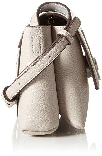 Mushroom Calvin 22 Leather Shoulder Bag Carrie Beige cm Klein 8Hq8FwcC
